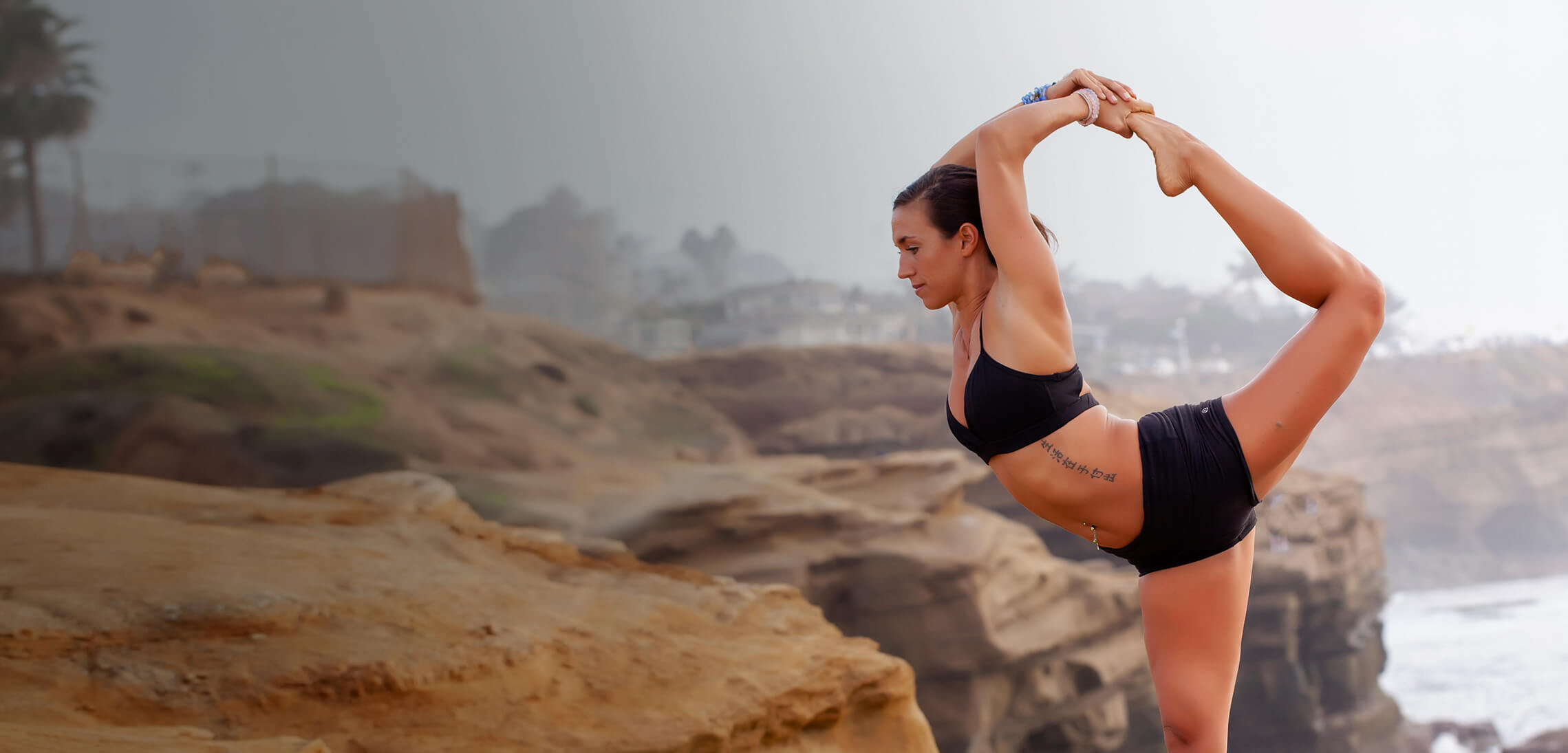Mindful Yoga & Meditation <br>with Katie B. Happyy