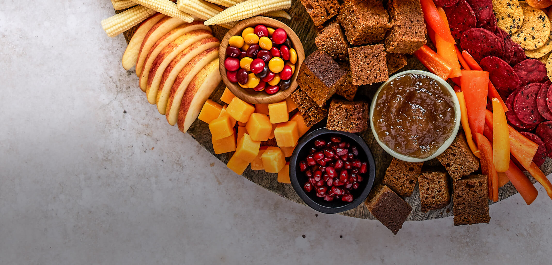 Beautiful Fall Snack Boards <br>with The BakerMama